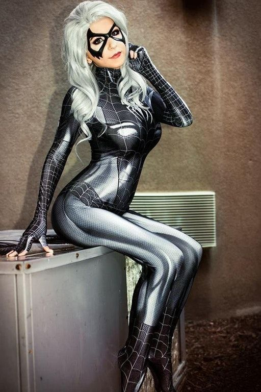 Symbiote Black Cat By Danielle Beaulieu