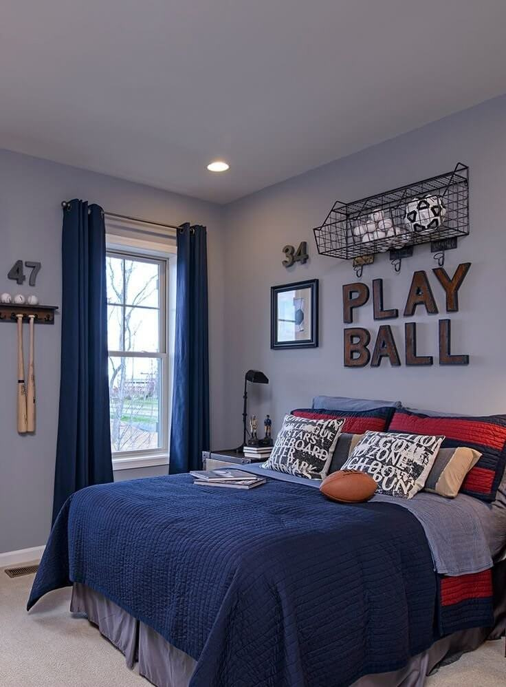 Boys Bedroom Decoration Idea Sports | Creative Ads And More…
