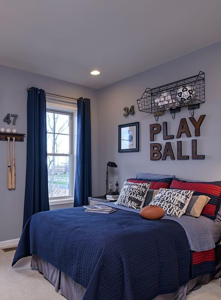 Boys Bedroom Decoration Idea Sports Creative Ads And More Classy Boys Bedroom Decorating Ideas Sports