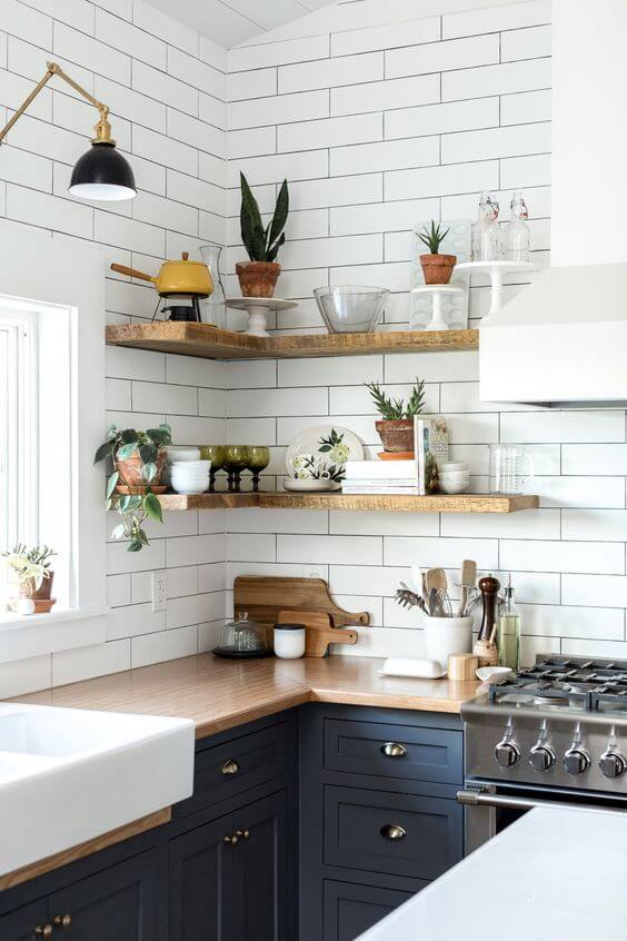 Ideas For Open Shelving In Kitchen