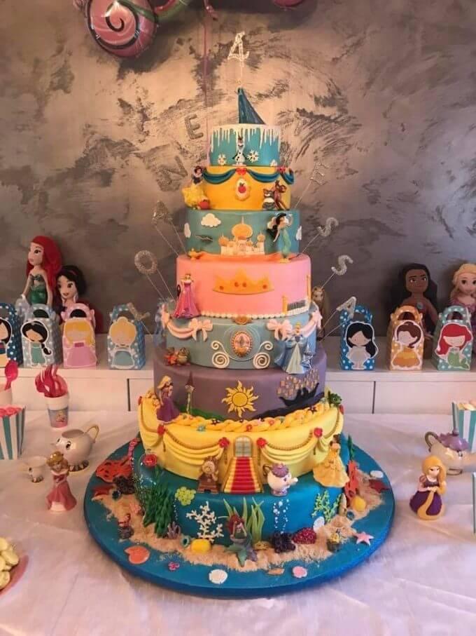 Disney Cake From Audrey Maingot Charpentier