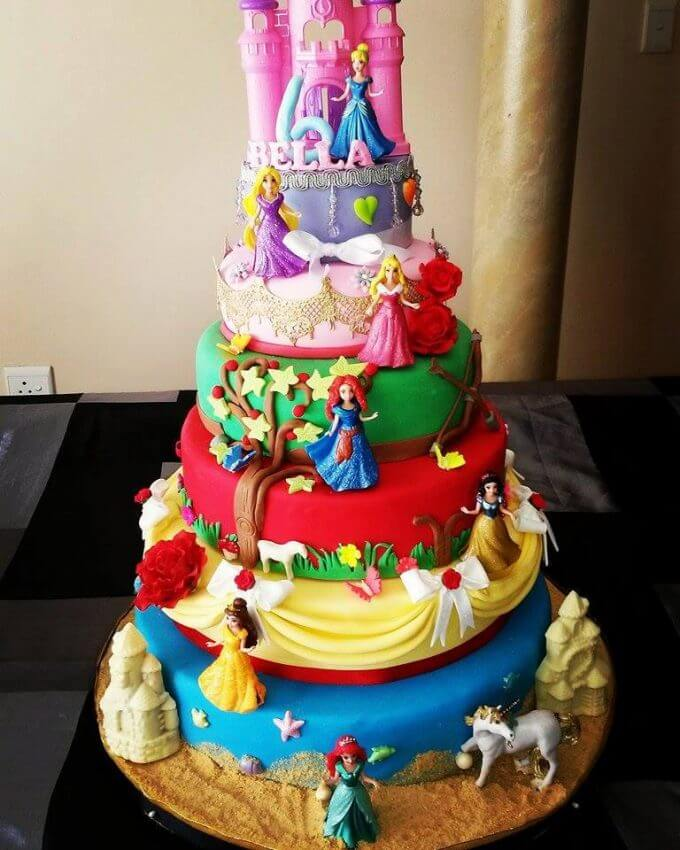 Disney Princess Cake From Melodi Roux