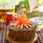 Easy Camping Cake From Country Living