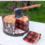 Lumberjack Cake From Jenny's Cookies