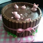 Pigs In The Mud Cake From Taartjes