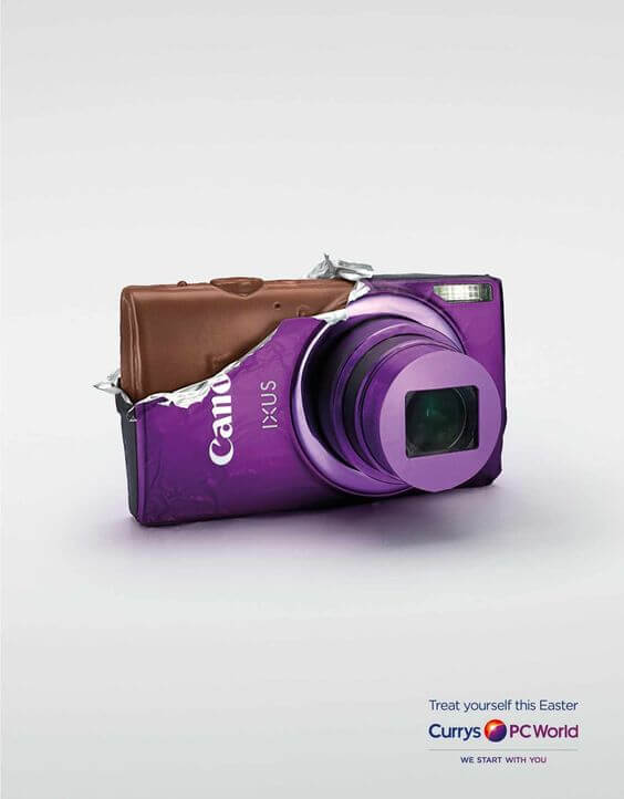 Canon Easter Ad