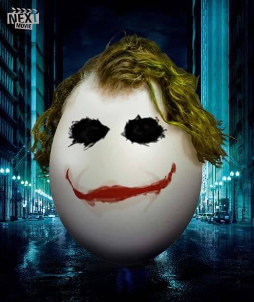 Easter Movie Ads Batman Dark Knight