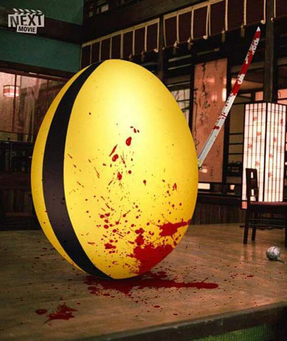 Easter Movie Ads Kill Bill