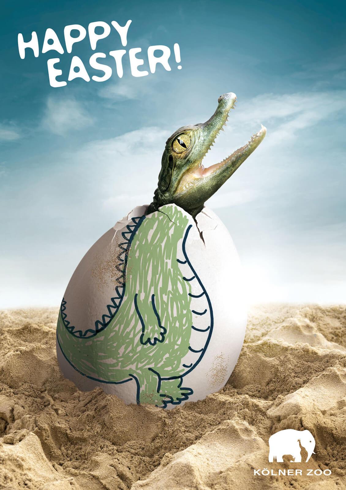 Kolner Zoo Easter Ad 4