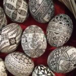 Awesome Black And White Easter Eggs