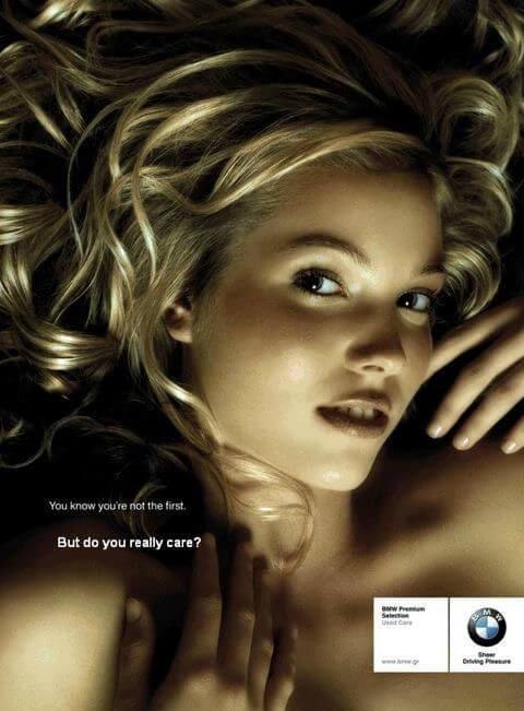 BMW Sexist Ad