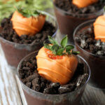 Carrot Strawberry Pudding Cups