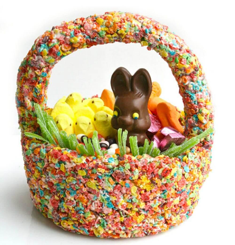Cereal Easter Basket