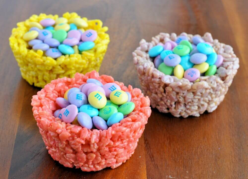 Easter Rice Krispies Cup
