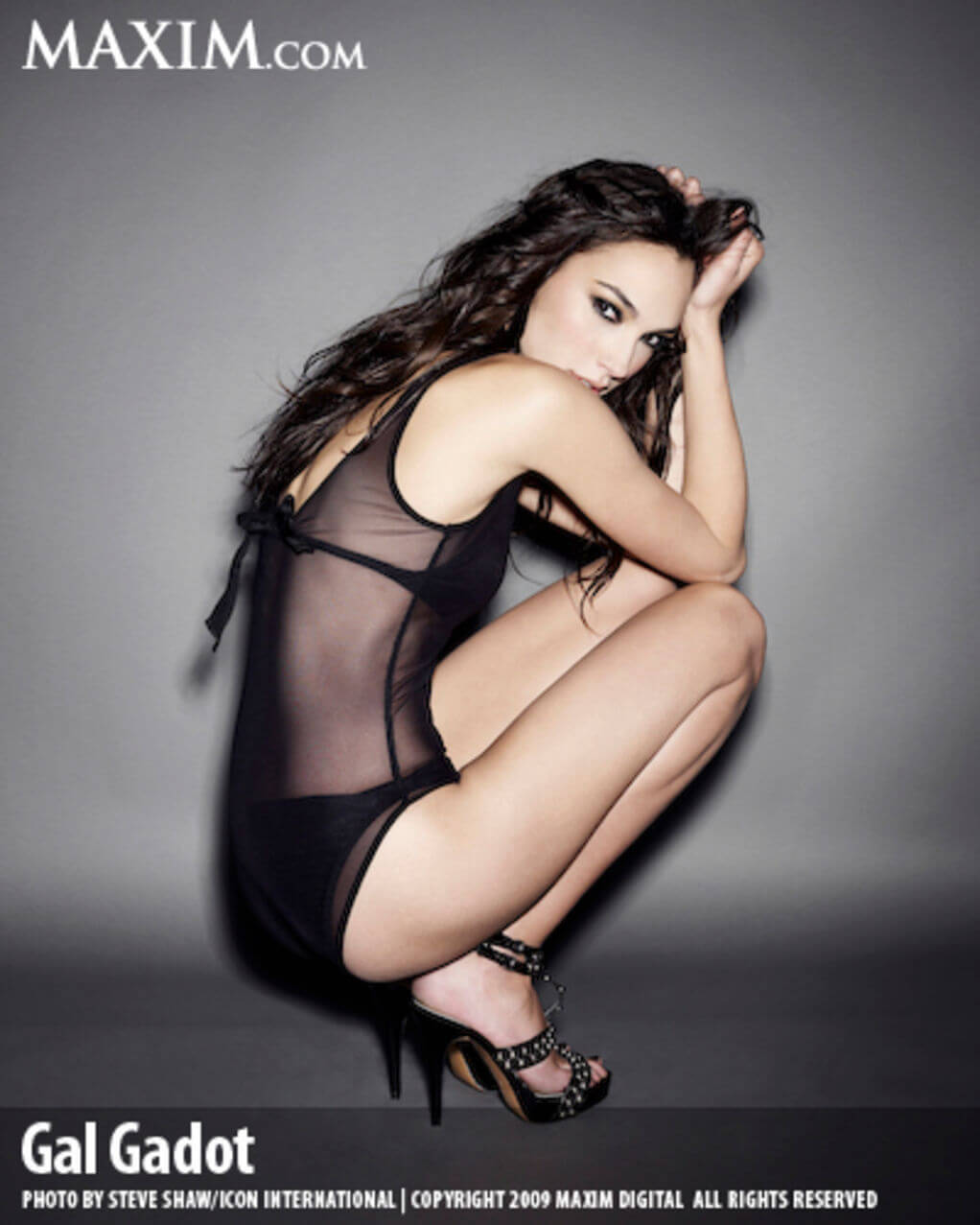 Gal Gadot Lingerie Shoot For Maxim 3 | Creative Ads and