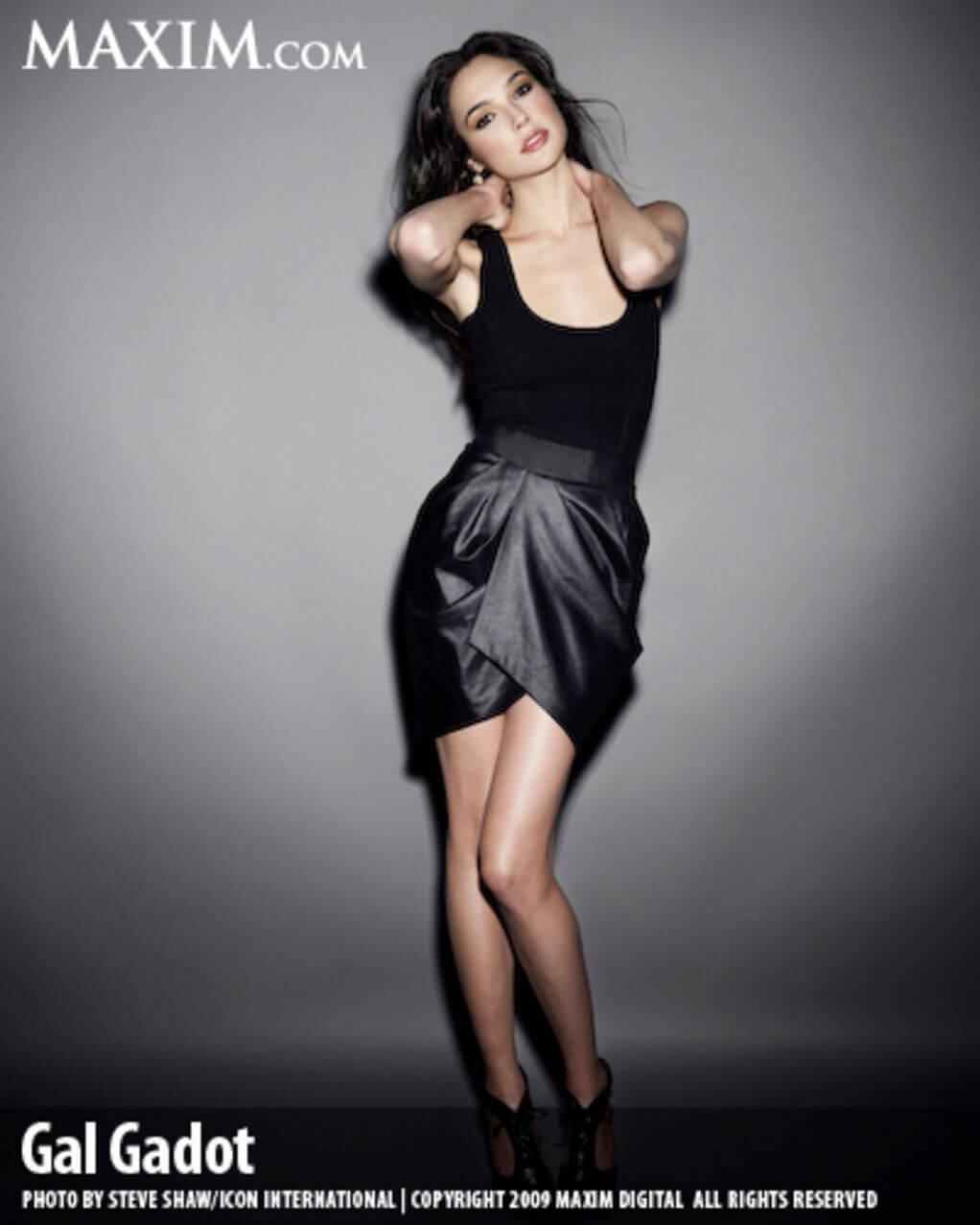 Gal Gadot Lingerie Shoot For Maxim 7
