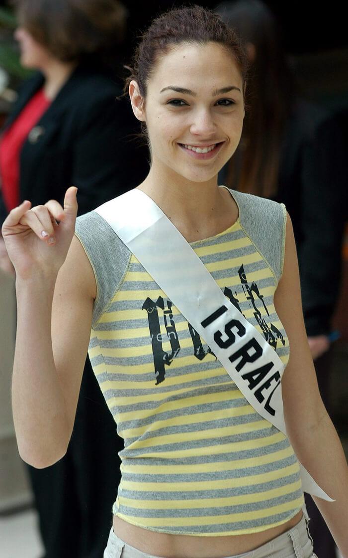 Gal Gadot Miss Israel Photo