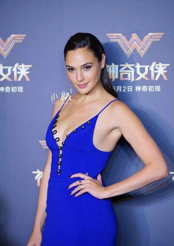 Gal Gadot Wonder Woman Premiere In Shanghai