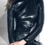Gal Gadot In Leather