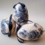 Hand Painted Goose Easter Eggs 3