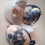 Hand Painted Goose Easter Eggs 4