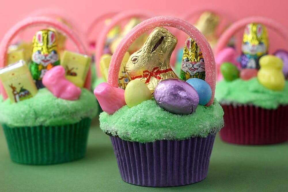Miniature Easter Egg Baskets