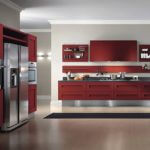 Modern Kitchen Design And Ideas Red