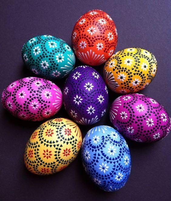 Serbian Easter Eggs
