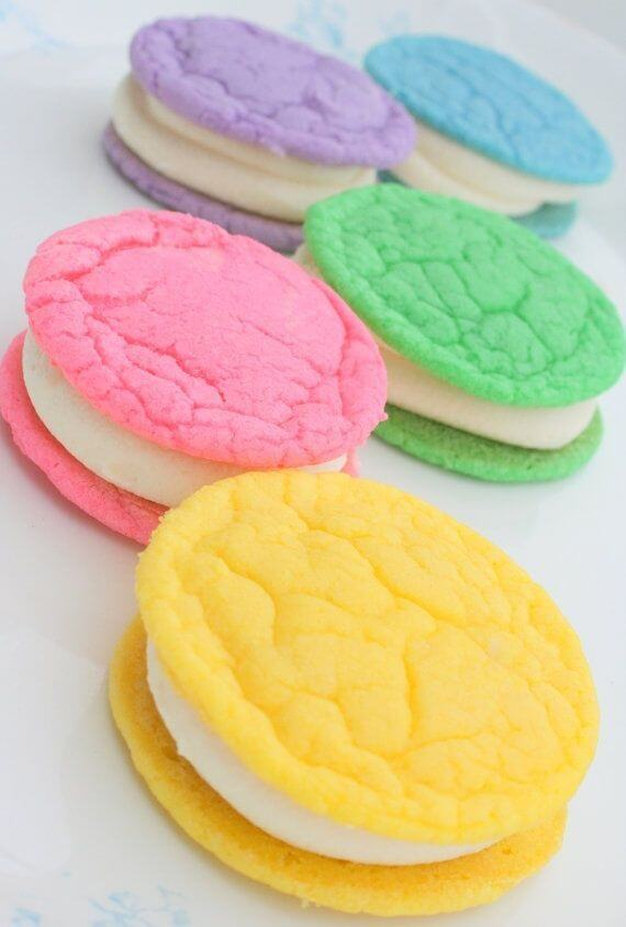 Sugar Cookies With Buttercream Frosting For Easter