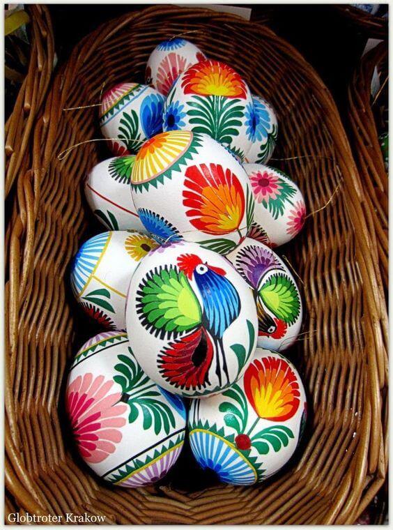 Ucrainian Hand Painted Eggs
