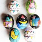 Whimsical Easter Eggs From Alisa Burke