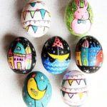 Whimsical Easter Eggs From Alisa Burke
