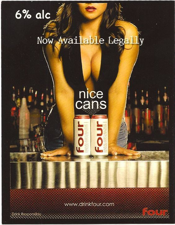 Four Drink Sexist Ad