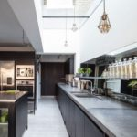 Black Modern Kitchen Idea