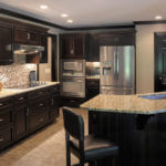 Kitchen Chic Contemporary Kitchen Design Ideas In Elegant Black