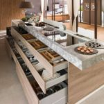 Large Island Modern Kitchen Idea