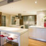 Kitchen Kitchen Stunning Contemporary Kitchen Designs Design With Beautiful Wooden Luxury Kitchens Floor And Table White