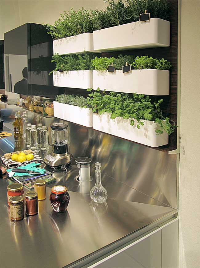 Awesome Herb Garden In Kitchen