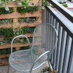 DIY Pallet Herb Garden On The Balcony
