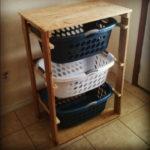DIY Pallet Laundry Basket Dresser