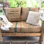 DIY Pallet Wood Patio Chair