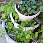 DIY Stacked Herb Garden