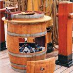 DIY Wine Barrel Cooler Idea