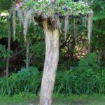 High Tree Stump Planter