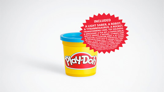 Play Doh Ad
