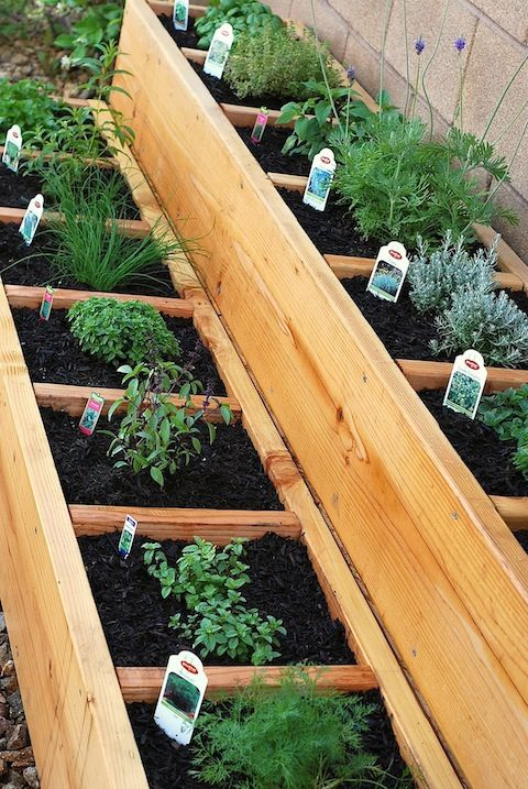 Stacked Herb Bed