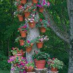 Tree Stump With Pots