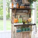Vintage Door Beverage Bar