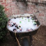 Wheel Barrow Wine And Beer Cooler