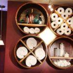 Wine Barrel Bathroom Storage